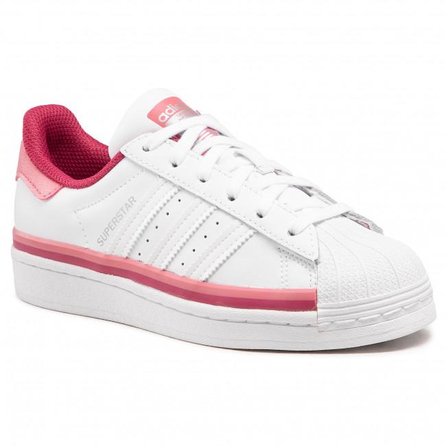 Cipő adidas - Superstar J FX5893 Ftwwht/Ftwwht/Hazros