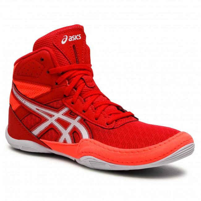 Cipő ASICS - Matflex 6 Gs 1084A007  Red/Flash Coral