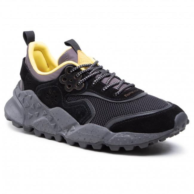 Sportcipő FLOWER MOUNTAIN - Kotetsu Man 0012015731.02.1A25 Black/Yellow Fluo
