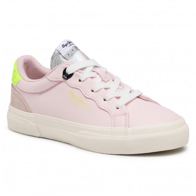 Sportcipő PEPE JEANS - Kenton Classic Girl PGS30483 Mauve Pink 319