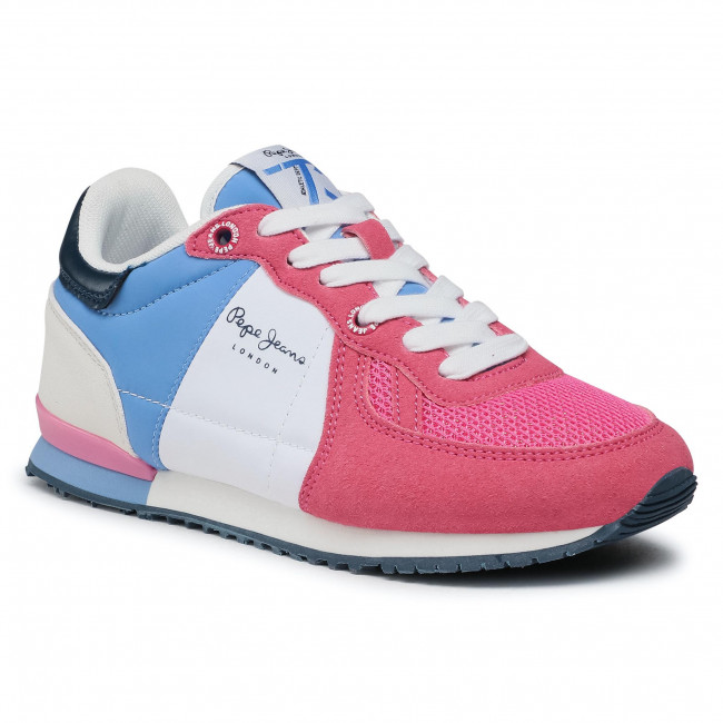 Sportcipő PEPE JEANS - Sydney Basic Girl PGS30497  Fuchsia 357