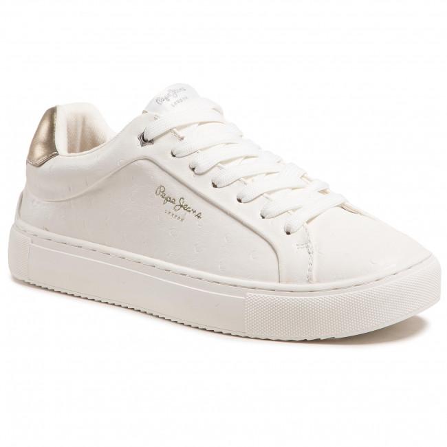 Sportcipő PEPE JEANS - Adams Molly PLS31159 Off White 803