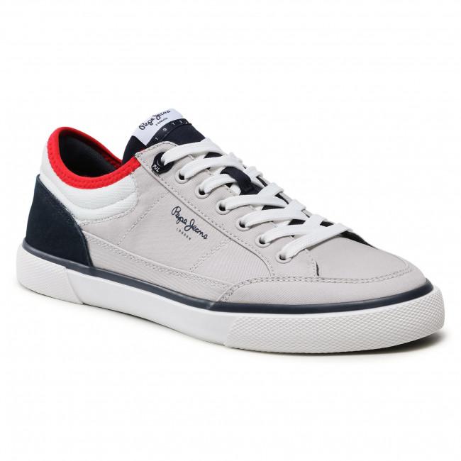 Sportcipő PEPE JEANS - Kenton Sport Mesh PMS30698 Light Grey 905