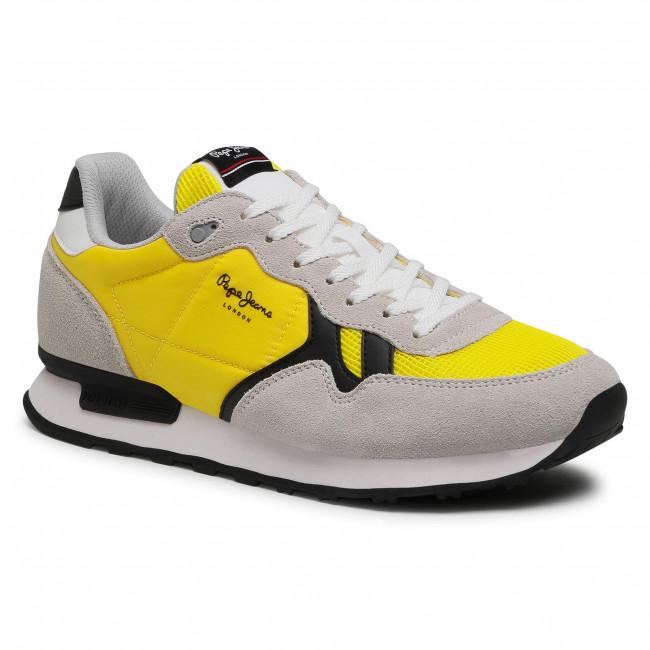 Sportcipő PEPE JEANS - Britt Man Basic PMS30721  Yellow 097
