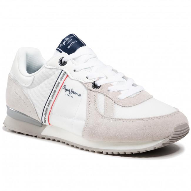 Sportcipő PEPE JEANS - Tinker Zero 21 PMS30725 Factory White 801