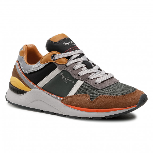 Sportcipő PEPE JEANS - X20 Basic PMS30734  Cognac 879