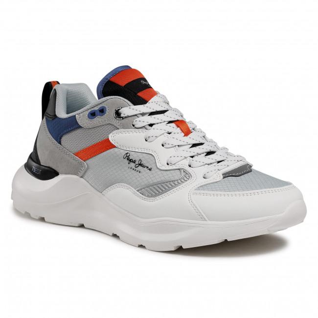 Sportcipő PEPE JEANS - Brooks Etd PMS30750  White 800