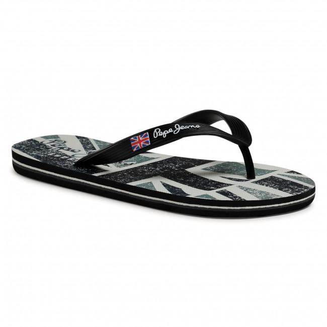 Vietnámi papucsok PEPE JEANS - Hawi Britt PMS70101 Black 999