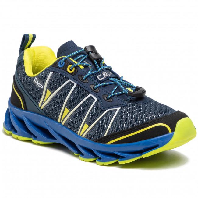 Túracipő CMP - Kids Altak Trail Shoe 2.0 30Q9674J Cosmo/Limeade 12NE