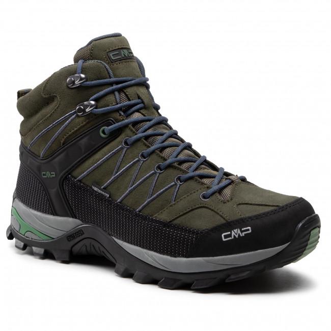 Túracipő CMP -  Rigel Mid Trekking Shoe Wp 3Q12947  Torba/Salvia