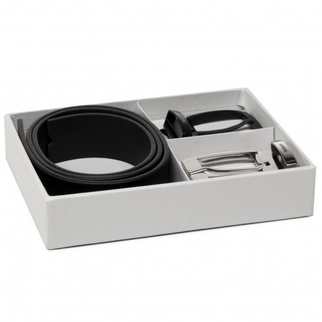 Férfi öv TRUSSARDI - Kit Belt H3,5cm Logo 71L00155 K299