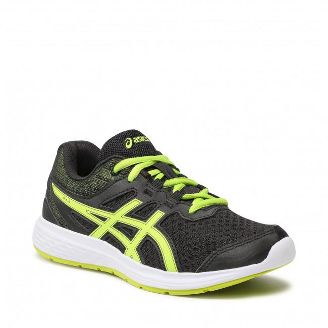 Cipő ASICS - Ikaia 9 Gs 1014A131 Black/Lime Zest