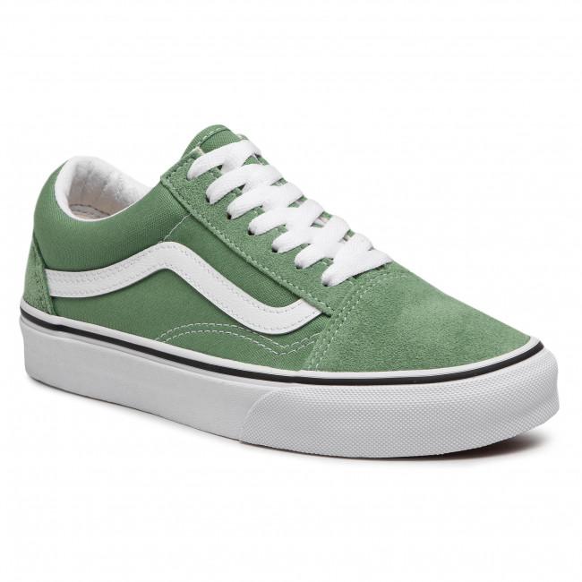 Teniszcipő VANS - Old Skool VN0A3WKT4G61 Shale Green/True White