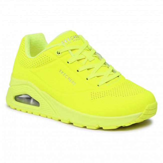 Sportcipő SKECHERS - Night Shades 73667/NYEL Neon/Yellow