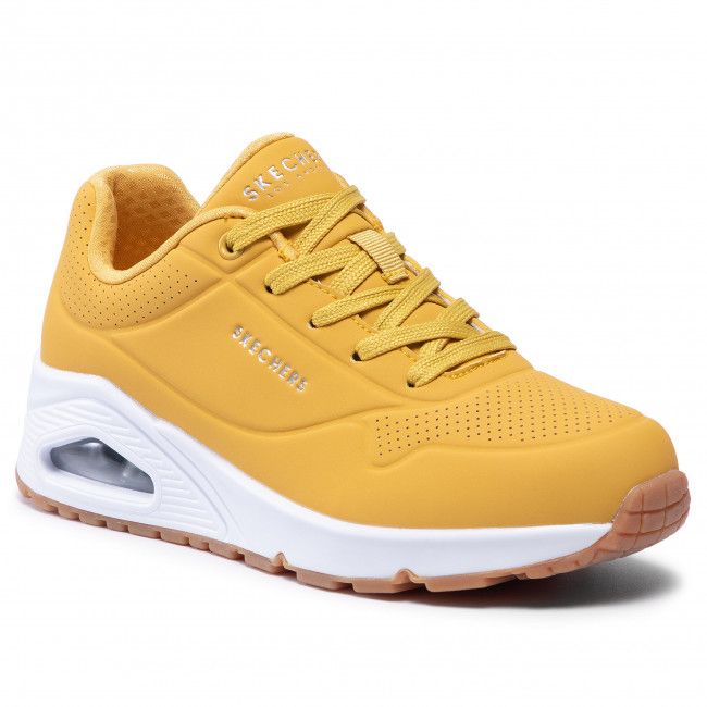 Sportcipő SKECHERS - Stand On Air 73690/YLW Yellow/White