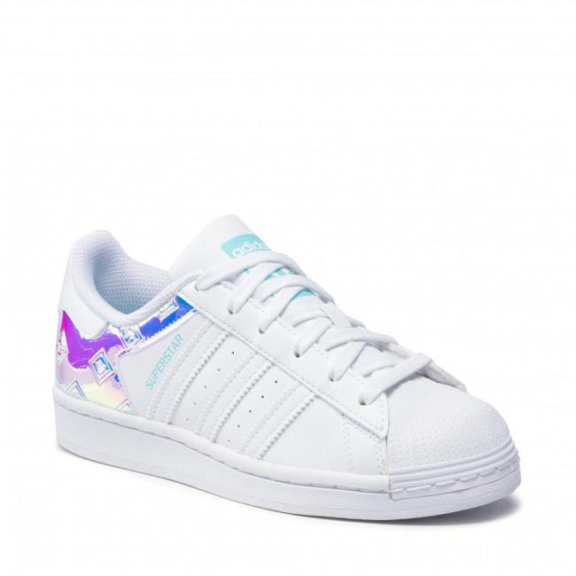 Cipő adidas - Superstar J H03949  Ftwwht/Ftwwht/Pulaqu