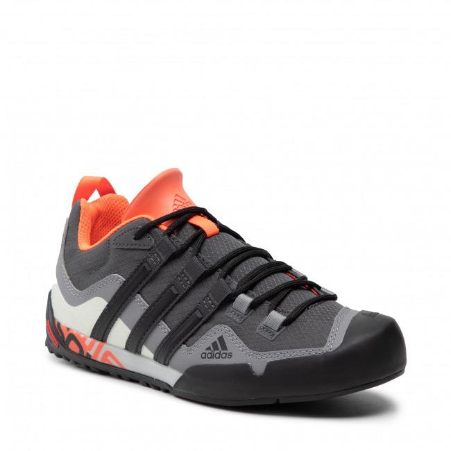 Cipő adidas - Terrex Swift Solo S29255 Grey Six/Core Black/Solar Red