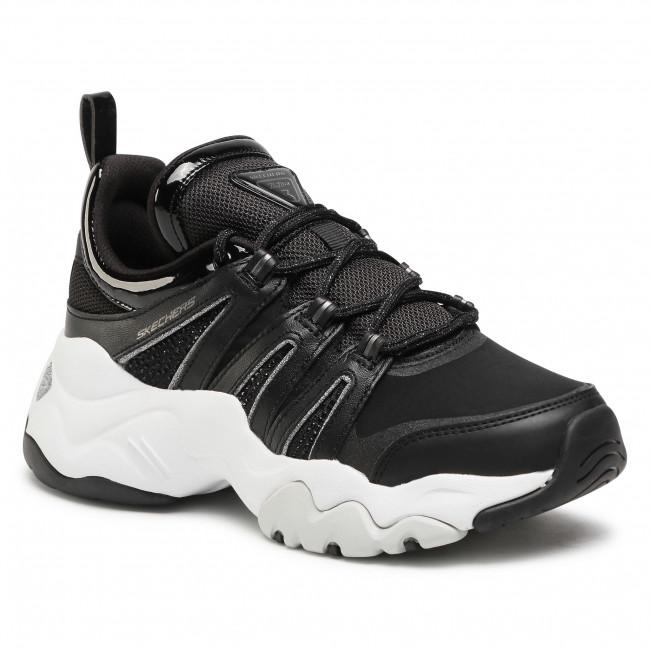 Sportcipő SKECHERS - D'Lites 3.0-Intense Force 12959/BKW Black/White