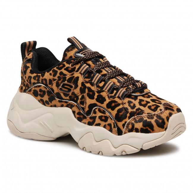 Sportcipő SKECHERS - D'lites Jungle Fashion 13427/LPD  Leopard