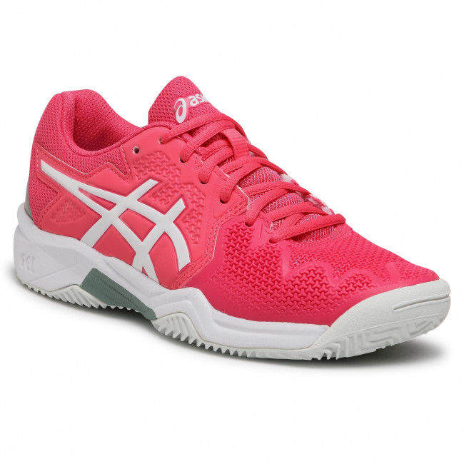 Cipő ASICS - Gel-Resolution 8 Clay Gs 1044A019  Pink Cameo/White 702