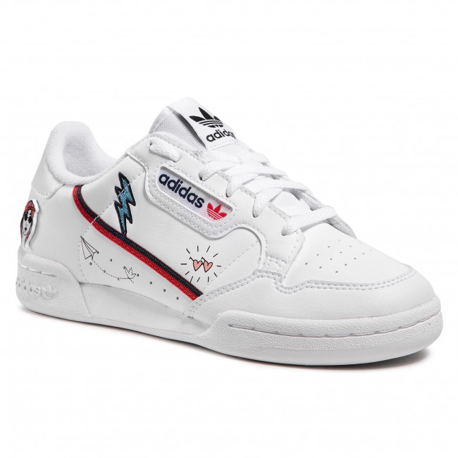 Cipő adidas - Continental 80 J FX6067  Ftwwht/Conavy/Scarle