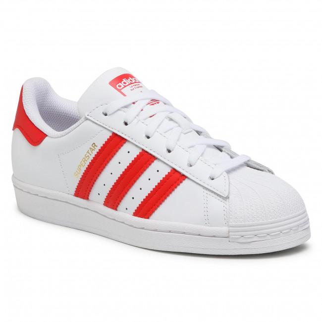 Cipő adidas - Superstar H68094  Ftwwht/Vivred/Goldmt