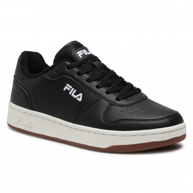Sportcipő FILA - Netforce II Low 1011123.15W Black/Gum