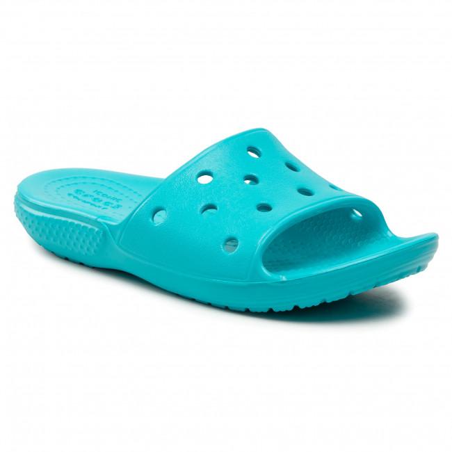 Papucs CROCS - Classic Crocs Slide K 206396  Digital Aqua