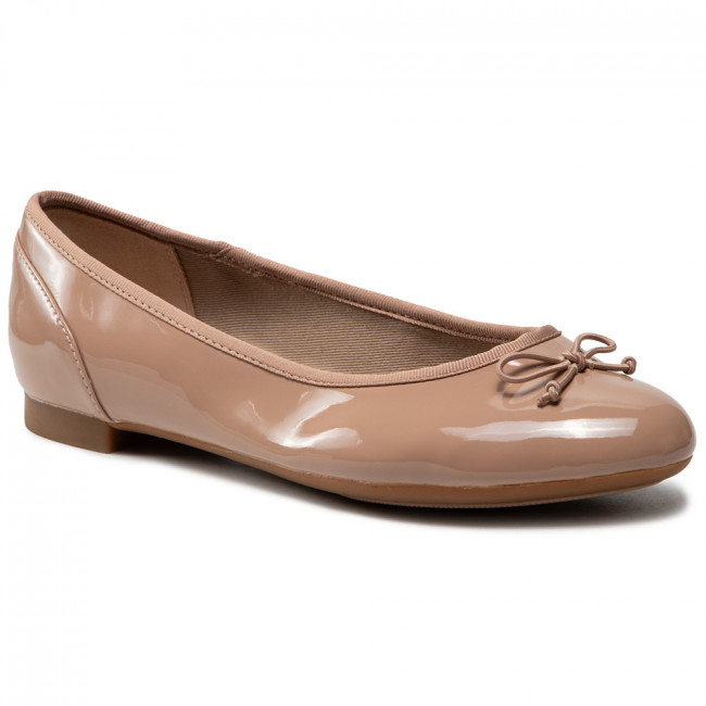 Balerina CLARKS - Couture Bloom 261339925 Nude Patent