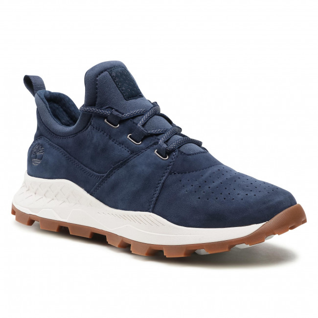 Sportcipő TIMBERLAND - Brooklyn Lace Oxford TB0A1YVP019 Navy Suede