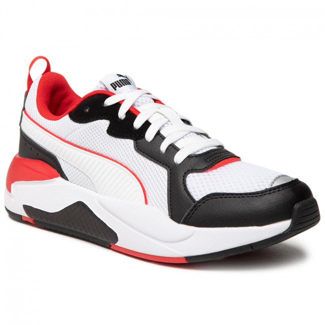 Sportcipő PUMA - X-Ray 372602 14 White/White/Black/Red/Silver