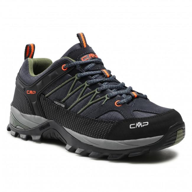 Túracipő CMP - Rigel Low Trekking Shoe Wp 3Q54457 Antracite/Torba 51UG