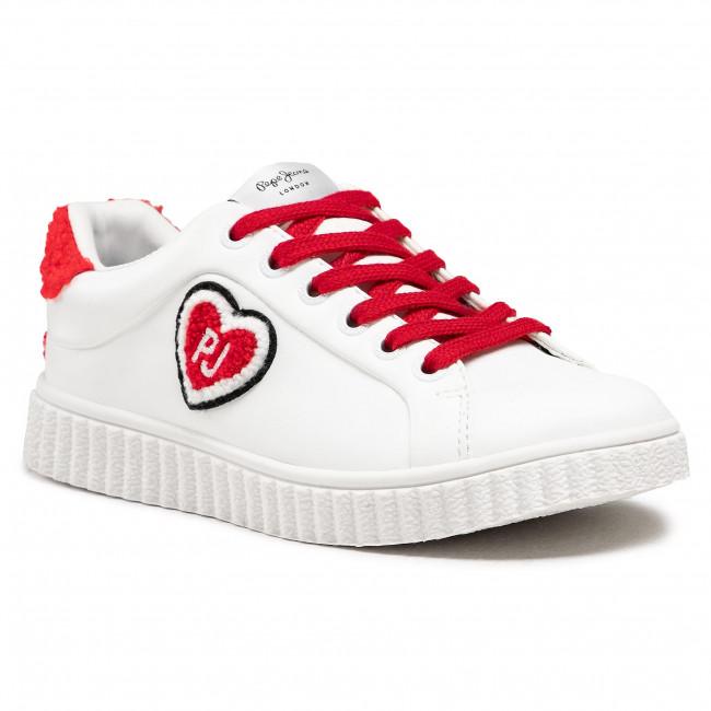 Sportcipő PEPE JEANS - Taylor Hearth PGS30353 White 800