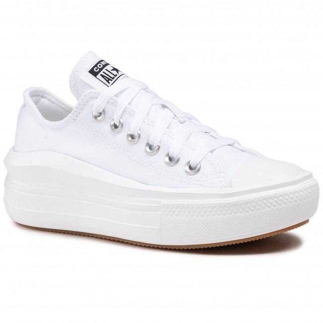 Tornacipő CONVERSE - Ctas Move Ox 570257C White/White/White