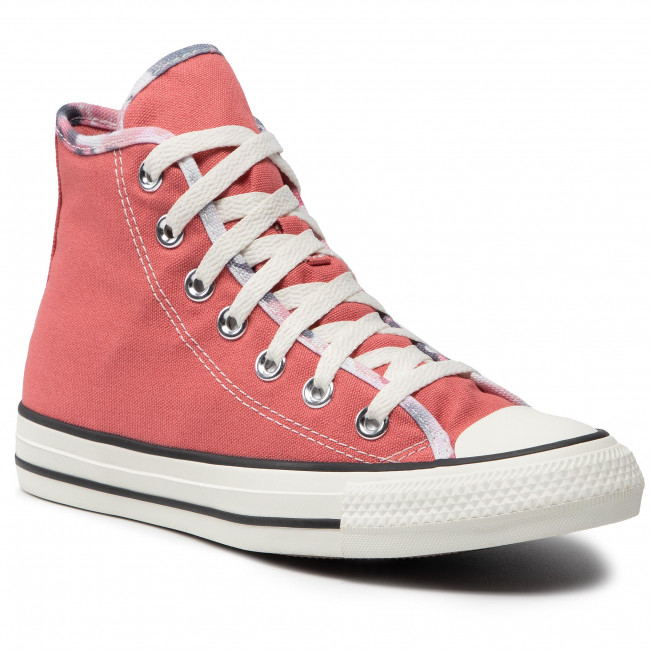 Tornacipő CONVERSE - Ctas Hi 570906C Terracotta Pink/Egret/Black