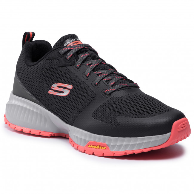 Cipő SKECHERS - Eliminator 232119/BKRD Black/Red