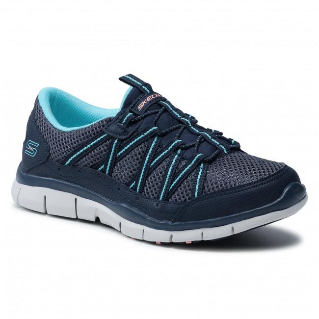 Sportcipő SKECHERS - My Business 104061/NVBL Navy/Blue