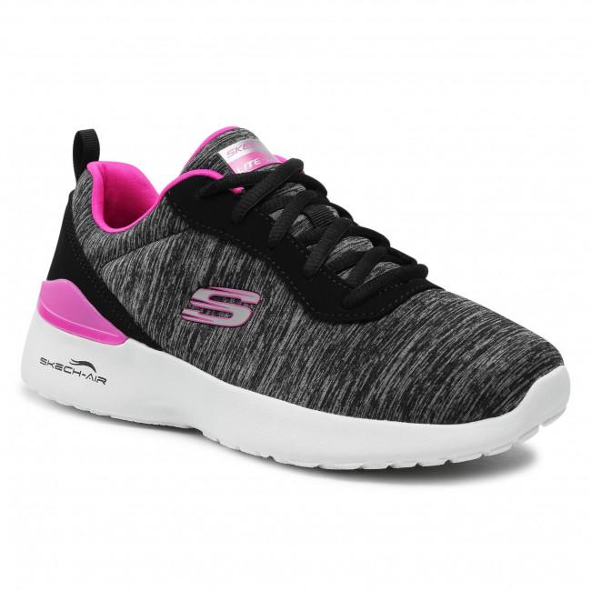 Cipő SKECHERS - Paradise Waves 149344/BKHP Black/Hot Pink