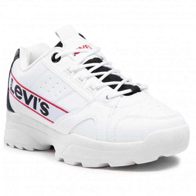 Sportcipő LEVI'S® - VSOH0054S White Black 0062