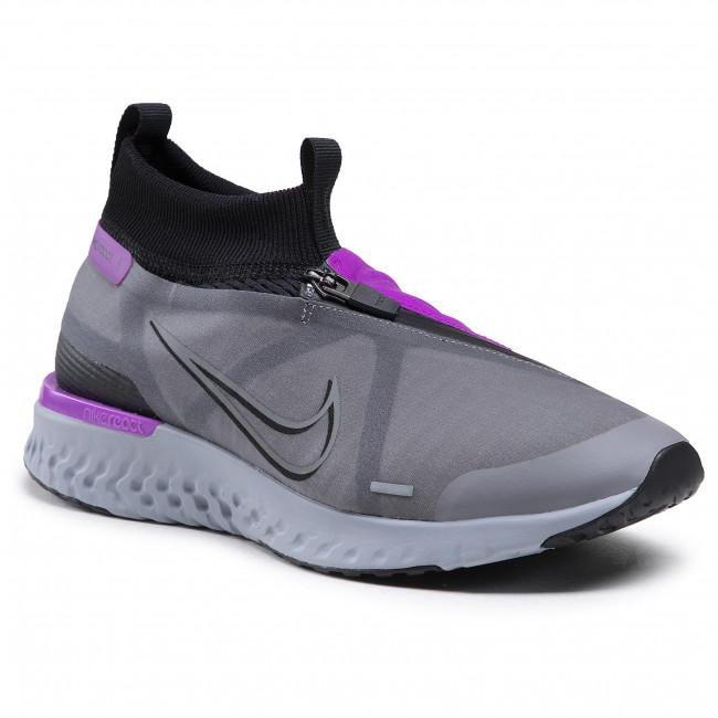 Cipő NIKE - React City AT8423 001 Black/Gunsmoke/Hyper Violet