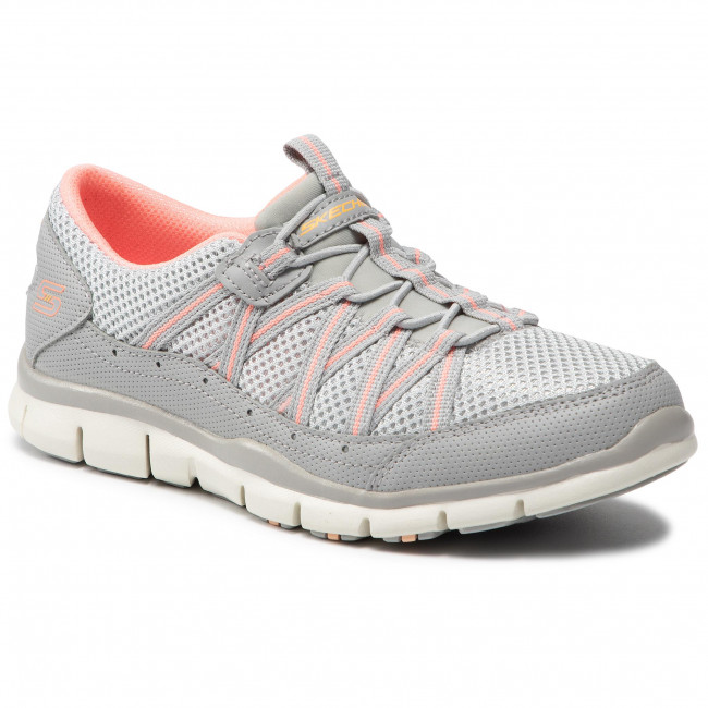 Sportcipő SKECHERS - My Business 104061/GYPK Gray/Pink