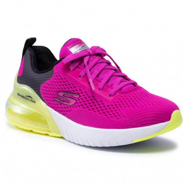 Cipő SKECHERS - Wind Breeze 13278/HPLM Hot Pink/Lime