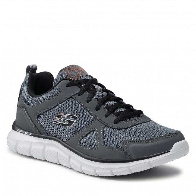 Cipő SKECHERS - Scloric 52631/CCBK Charcoal/Black