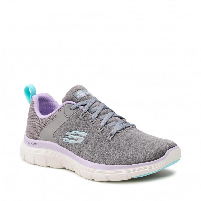 Cipő SKECHERS - Flex Appeal 4.0 149307/GYLV Gray/Lavender