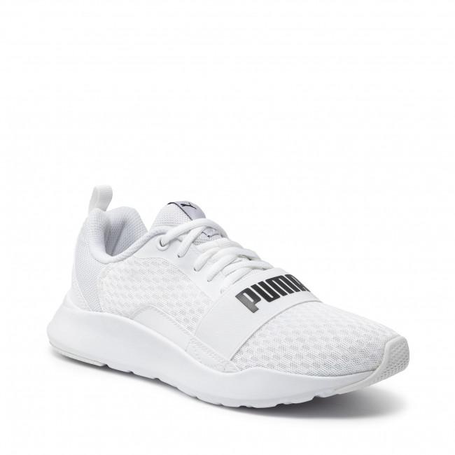 Cipő PUMA - Wired 366970 02 Puma White/Puma White/White