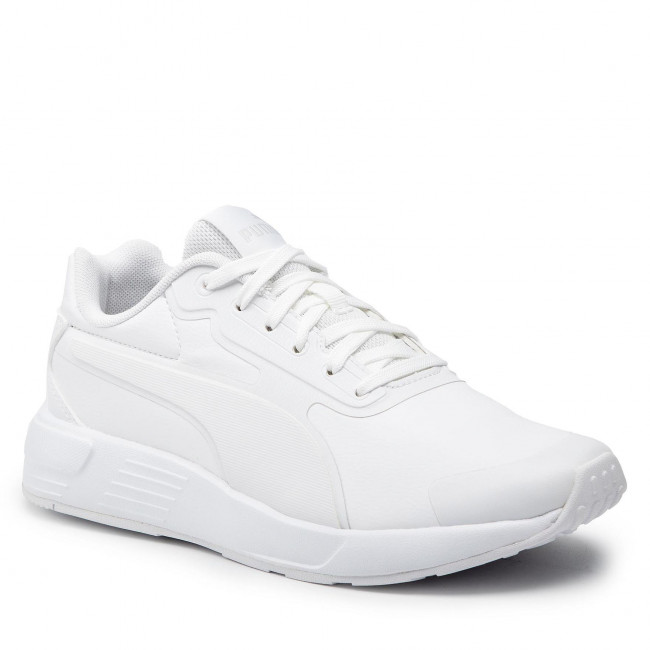 Sportcipő PUMA - Taper Sl Jr 374690 02 Puma White/White/Gray Violet