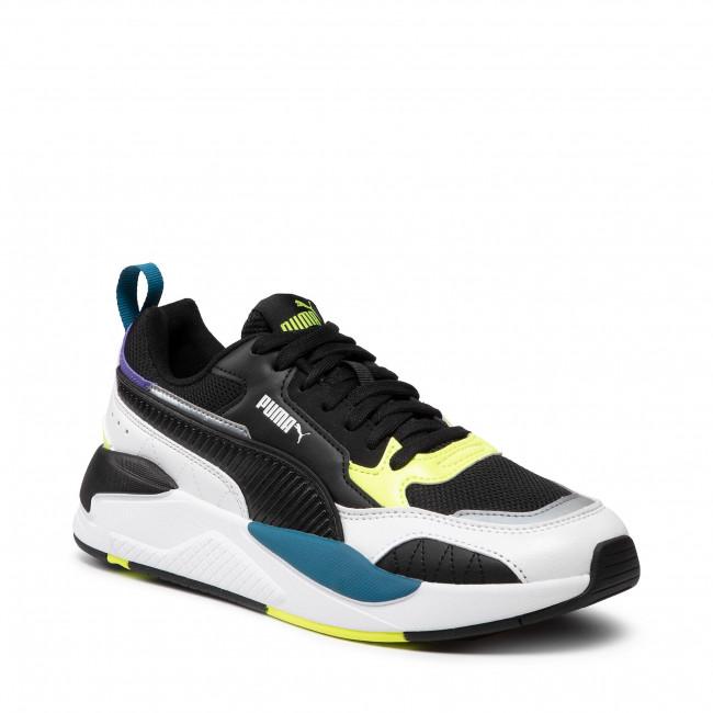 Sportcipő PUMA - X-Ray 2 Square 373108 01 White/Black/F Yellow/D Blue