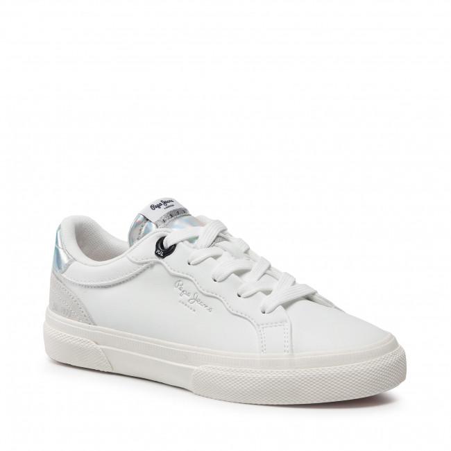 Sportcipő PEPE JEANS - Kenton Classic Girl PGS30483 White 800