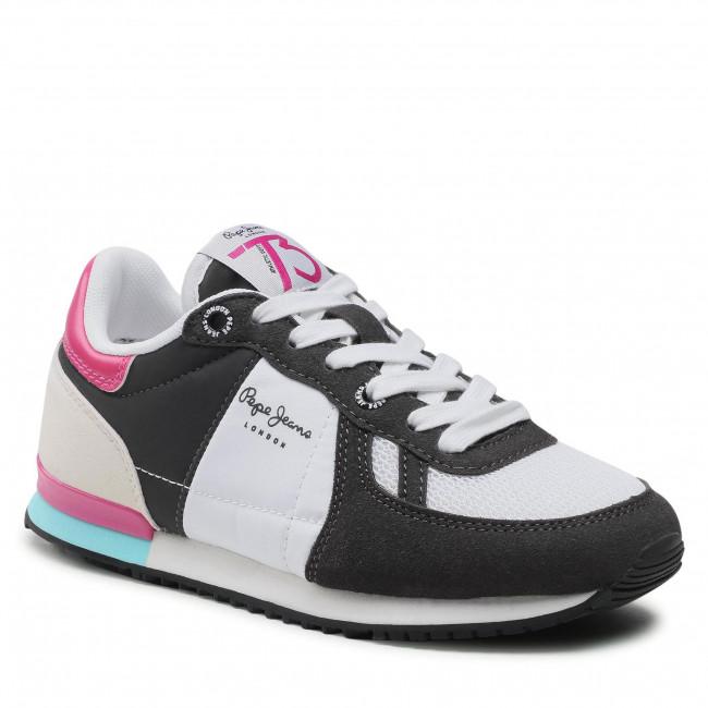 Sportcipő PEPE JEANS - Sydney Basic Girl PGS30497  Black 999