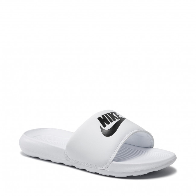 Papucs NIKE - Victori One Slide CN9677 100 White/Black/White